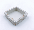 Wholesale factory high quality custom ashtray concrete terrazzo ashtray