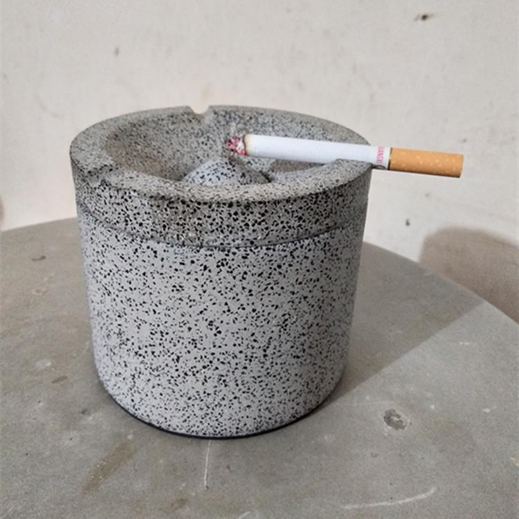 Manufacturers wholesale custom gray terrazzo ashtray