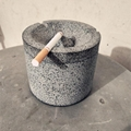 Manufacturers wholesale custom gray terrazzo ashtray