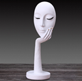 Lady Face flower vase home decoration accessories modern ceramic vase