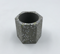 tabletop modern custom terrazzo concrete candle holder