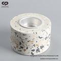 Terrazzo Tea Light Holder Concrete Stoneware Candle Holder FREE SAMPLE 1