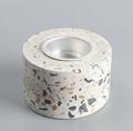 Terrazzo Tea Light Holder Concrete Stoneware Candle Holder FREE SAMPLE
