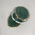 Wholesale Customize Creative Agate Stone Christmas Gift Coffee Coaster