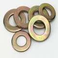 custom brass stamping thin flat washer