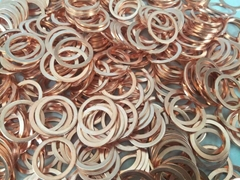 SEALING COPPER RING  DIN 7603A