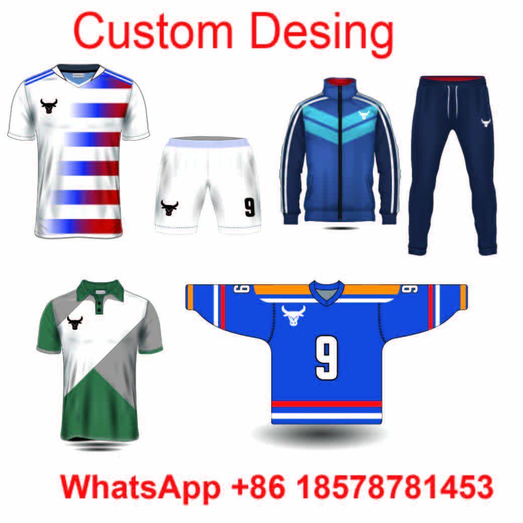 embroidery oem custom sublimated ice hockey jersey 1