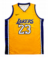 2019 23 LeBron James Lakers shirt custom Los Angeles Lakers Basketball jersey 1