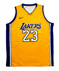 2019 23 LeBron James Lakers shirt custom