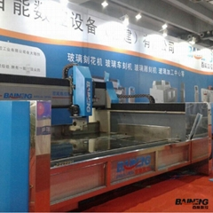 Baineng NC Glass Engraving Machine CNC Glass Engraving Machine