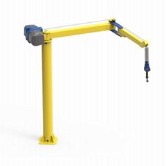 智能提升折臂起重機車間專用智能平衡吊