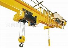 HD新型欧式电动单梁起重机 KSSL欧式单梁