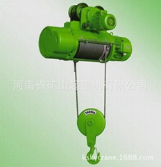 Special electric hoist for coal mine