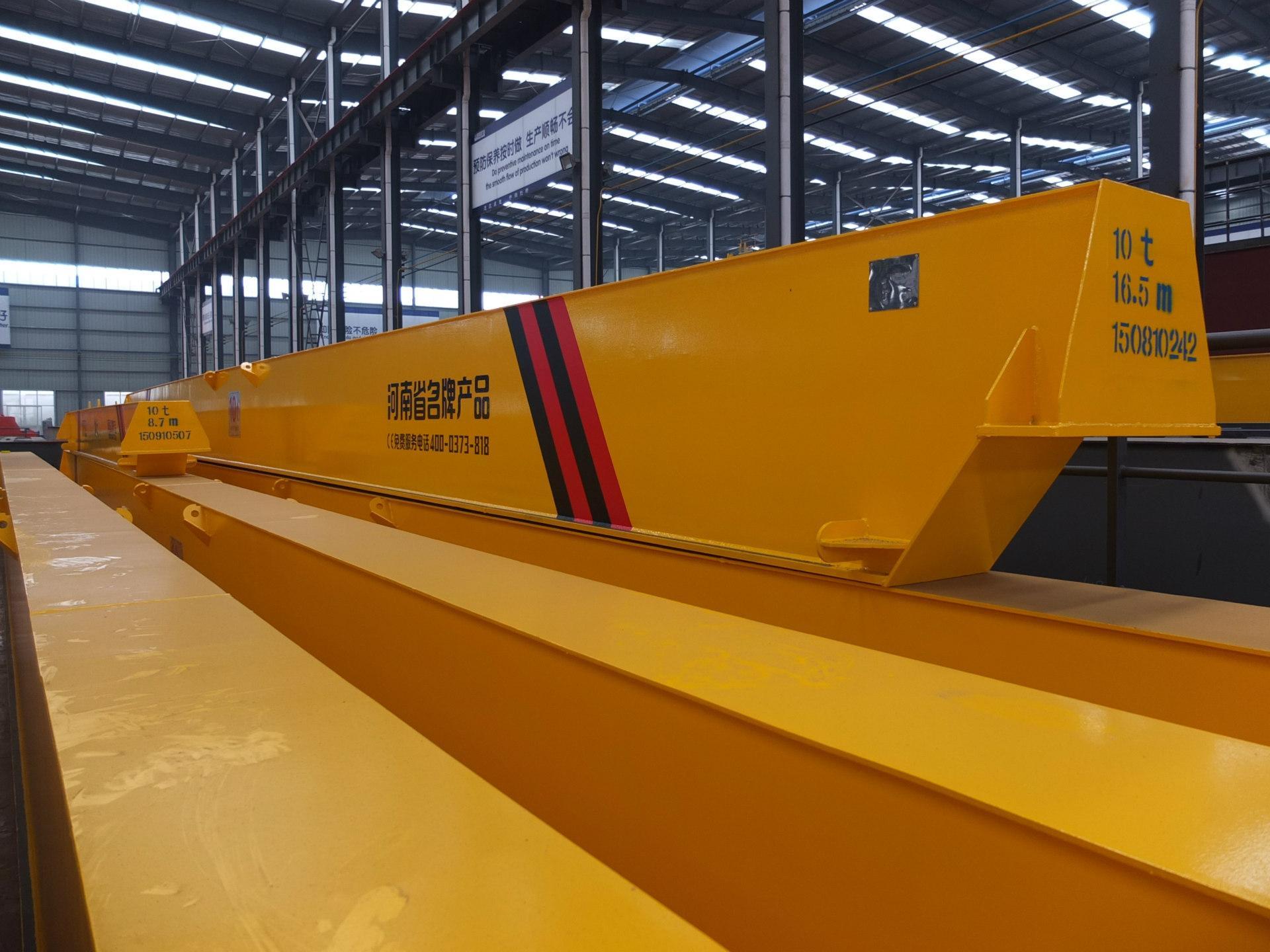 10吨27米电动单梁起重机 LD单梁起重机河南矿山 1