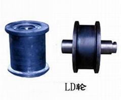 双轮缘车轮组,LD300车轮组,LD400车轮组,单梁双梁行车起重机车轮