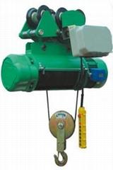 1噸12米電動葫蘆1噸CD1單速鋼絲繩電動葫蘆