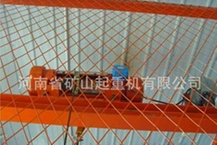 Manufacturers direct goods ladder with electric hoist