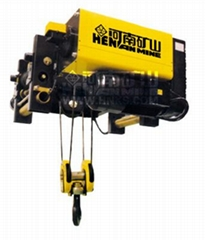 European wire rope electric hoist 10 tons