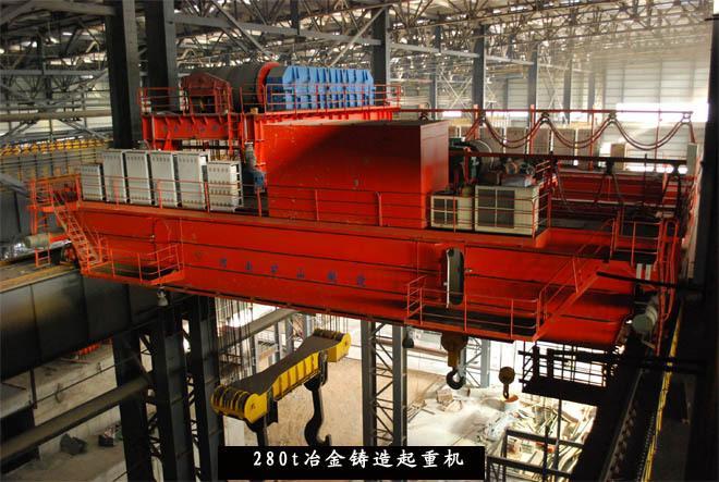 10吨/20吨YZ双梁铸造桥式起重机 1