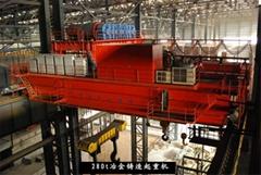 10噸/20噸YZ雙梁鑄造橋式起重機