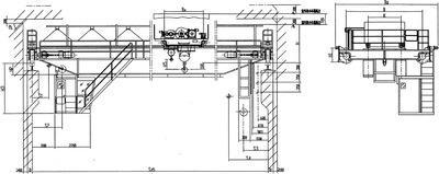10噸/20噸YZ雙梁鑄造橋式起重機 2
