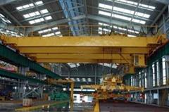 QL rotating electromagnetic bridge crane