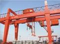 Gantry crane for subway construction