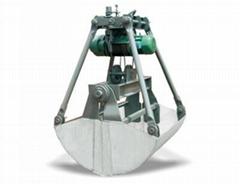 供應1立方/2立方/3立方/5立方電動不鏽鋼抓斗 河南礦山礦源