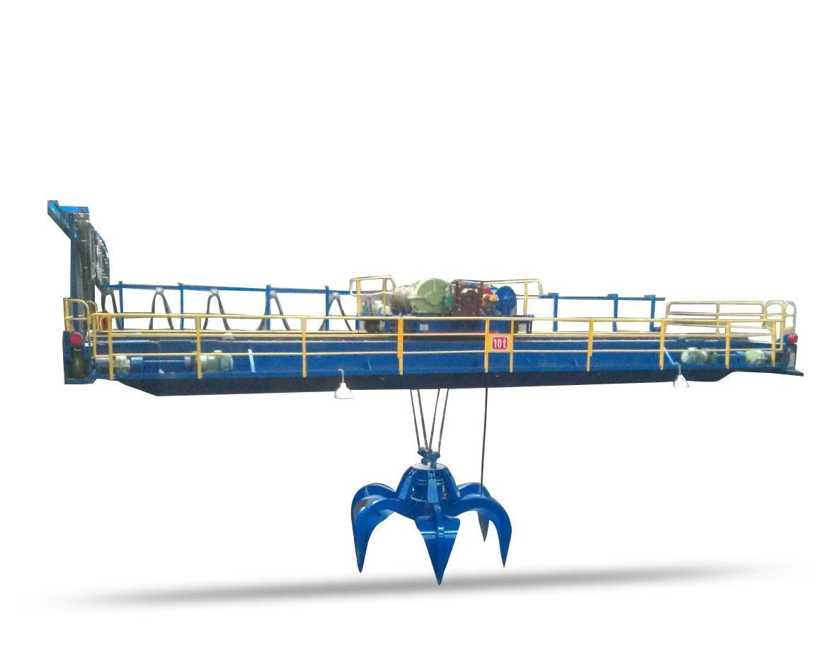 QZ抓斗橋式起重機 河南礦山礦源 1