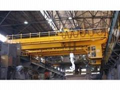 YZS type four beam casting bridge crane