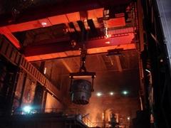16 ton QDY hook bridge casting crane