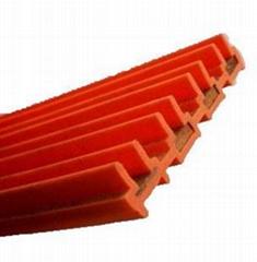 Four-pole seam free slip contact line 35 square