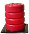 起重機防撞裝置聚氨酯緩衝器