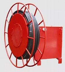 電纜卷筒 彈簧式/電動式電纜卷筒龍門吊自動收線器磁滯式卷筒