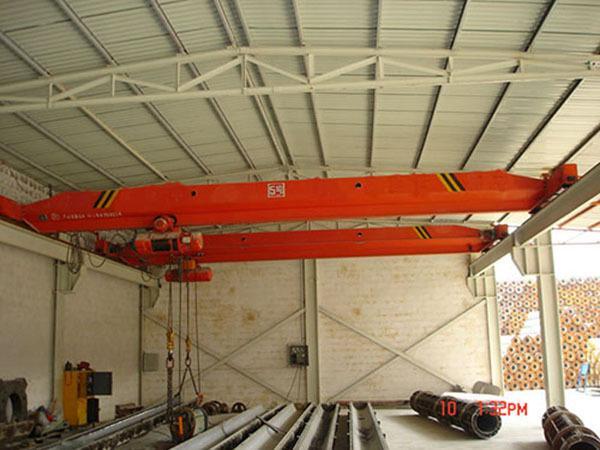 10T单梁桥式起重机 地操起重机  1