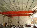 10T single beam bridge crane Ground