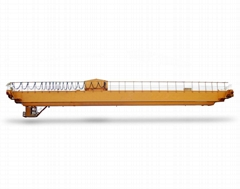 QD 5-ton hook bridge double beam crane qd5t-14.5/15.5/16.5/17.5m