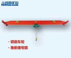 QD type 5-ton hook bridge double beam crane qd5t-26.5/27.5/28.5/29.5m