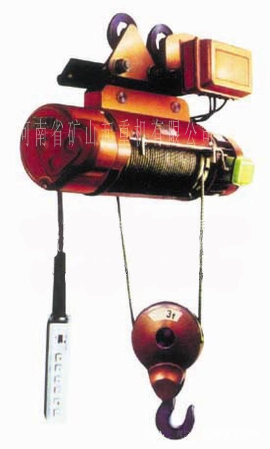 非標軌寬電動葫蘆 1