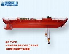 QD型16/3.2吨吊钩桥式双梁起重机 河南矿山起重机