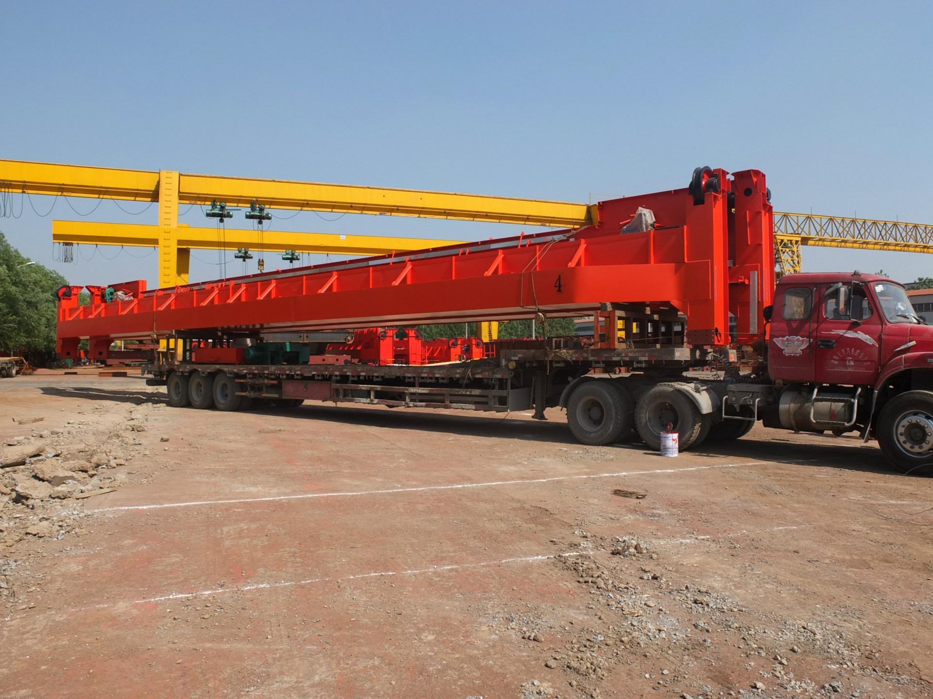 LH型雙梁10噸電動葫蘆雙梁起重機 河南礦山起重 2