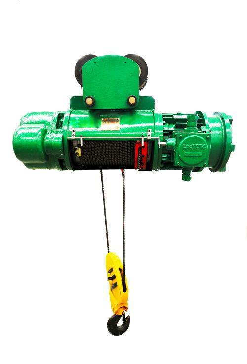 HB型三級防爆鋼絲繩電動葫蘆生產廠家 3