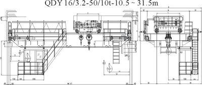 QDY吊鉤橋式鑄造起重機 河南礦山 5
