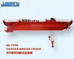 QD type 32/5 ton hook bridge type double beam crane qd32/5-21.5 /22.5/ 23.5m