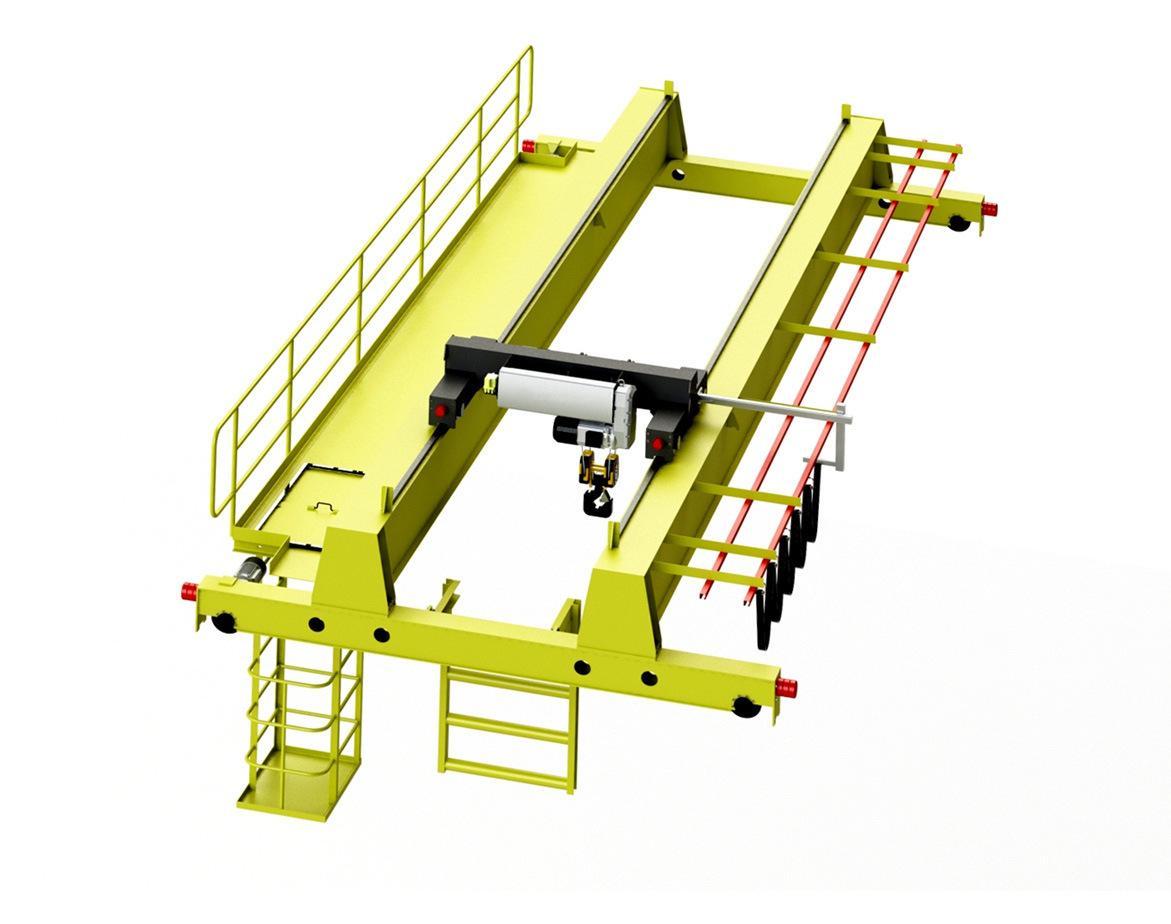 200/50吨QD型吊钩桥式起重机 河南矿山 3