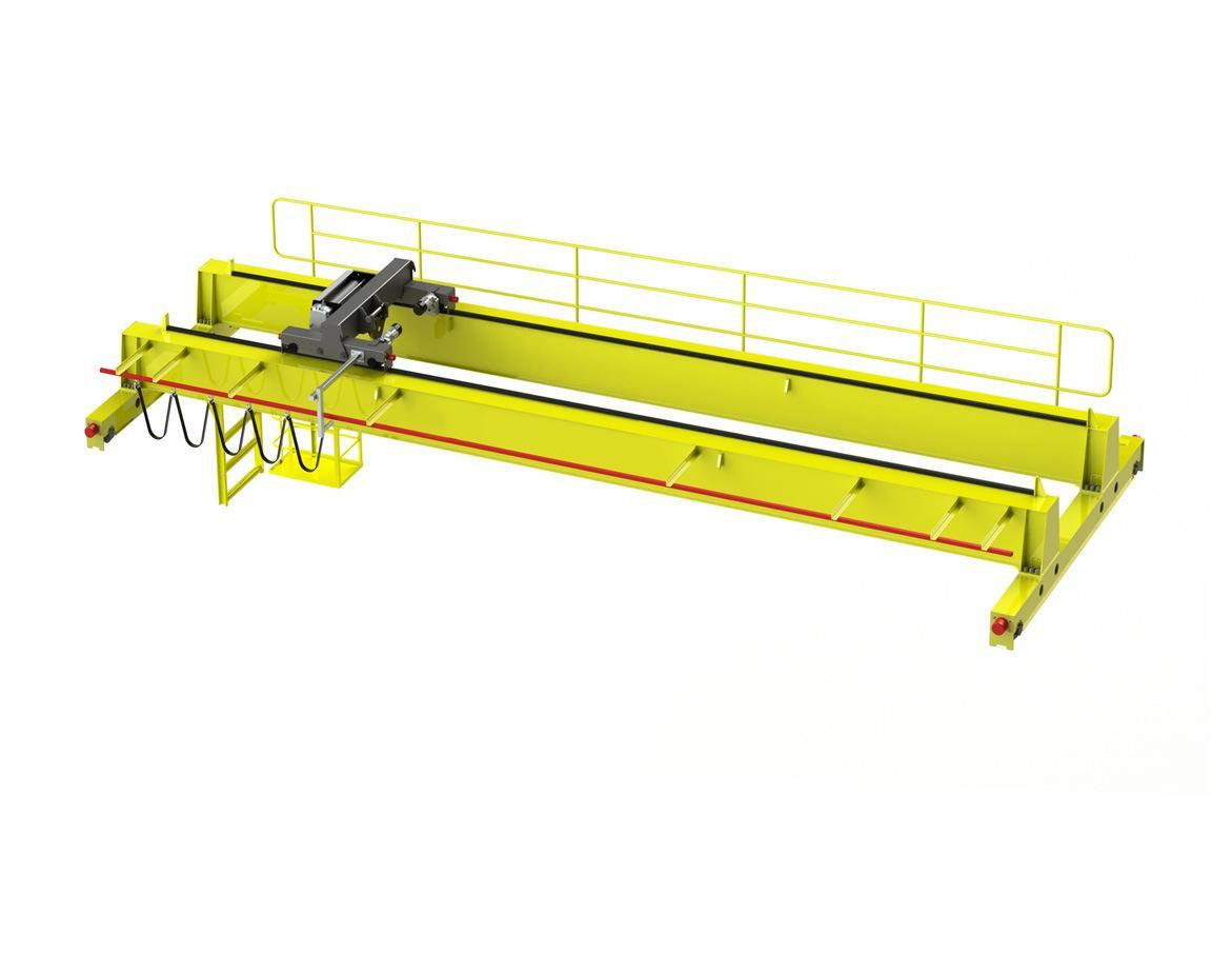 200/50吨QD型吊钩桥式起重机 河南矿山 5