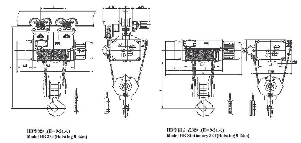 粉尘型煤炭类防爆电动葫芦 3