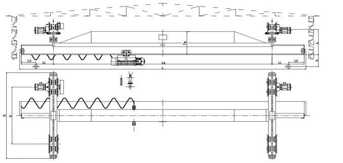 SLX型单梁桥式起重机 4