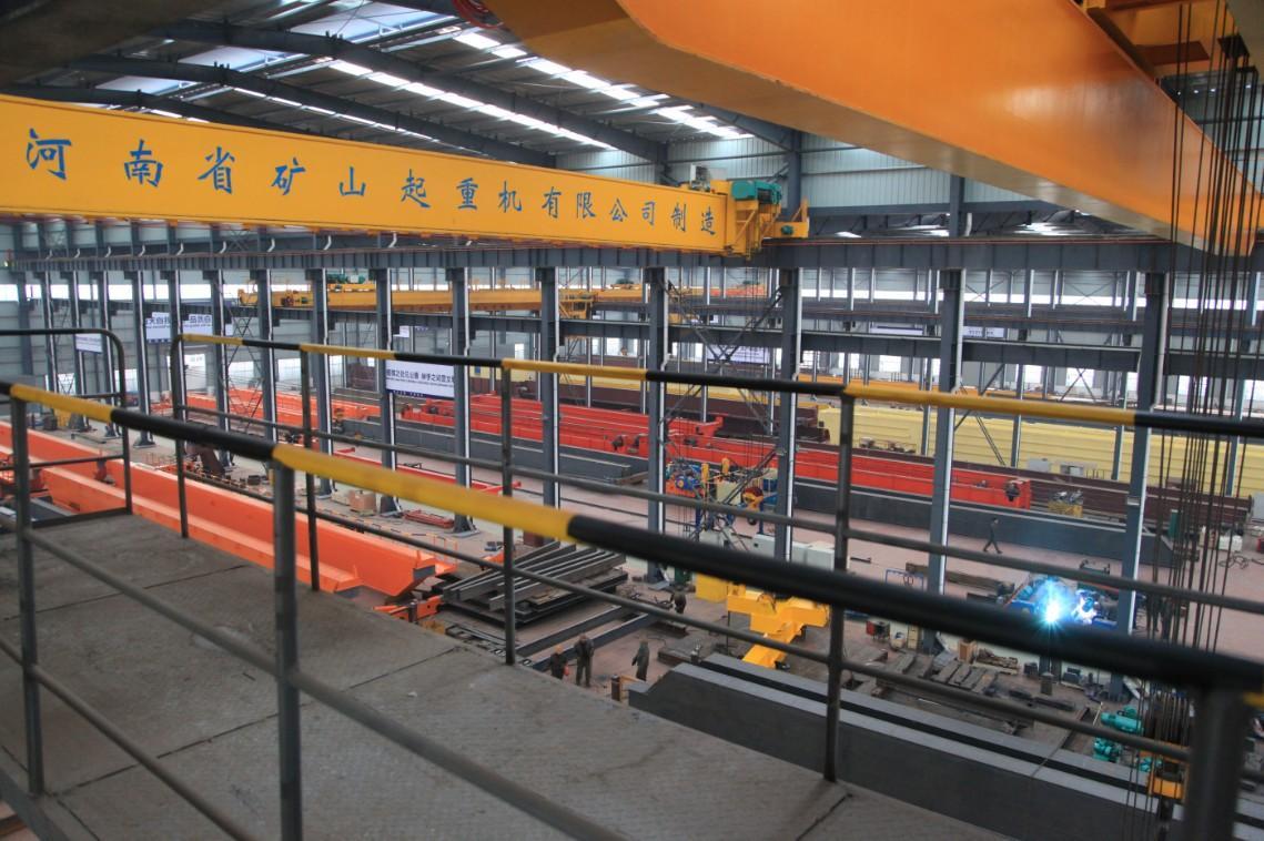 LH型10噸電動葫蘆雙梁起重機LH10T-22.5/23.5/24.5/25.5M 5