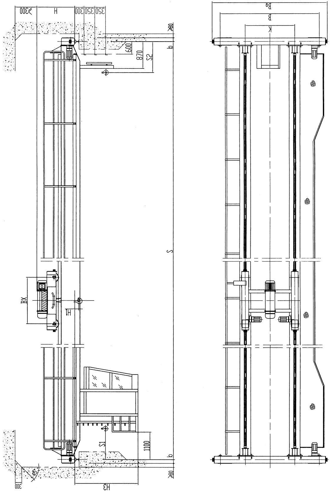 LH型3噸電動葫蘆雙梁起重機LH3T-10.5/11.5/12.5/13.5M 6